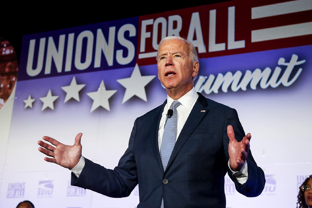 The former vice president and US senator has four decades of relationships with union leaders behind him, with Politico citing him as potentially the most labour-friendly president the United States has ever had.