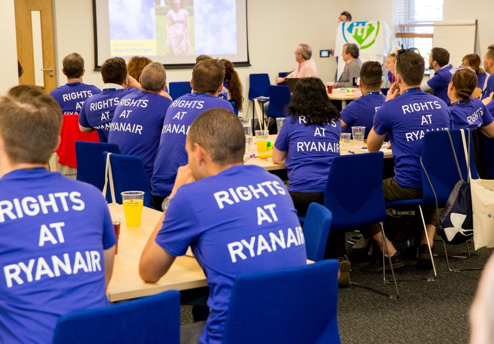The union's discussions with Ryanair focused on maintaining the employer-employee relationship.