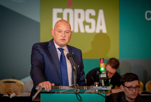 The head of Fórsa's civil service division, Derek Mullen, said the union was seeking to review the data to test department's argument for temporary outsourcing.